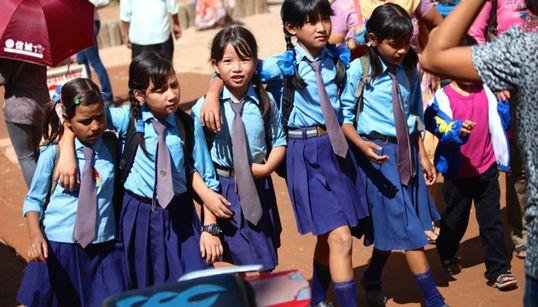 La cité de Bhaktapur avant le séisme qui a ravagé le