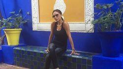 Victoria Beckham et YSL à Marrakech
