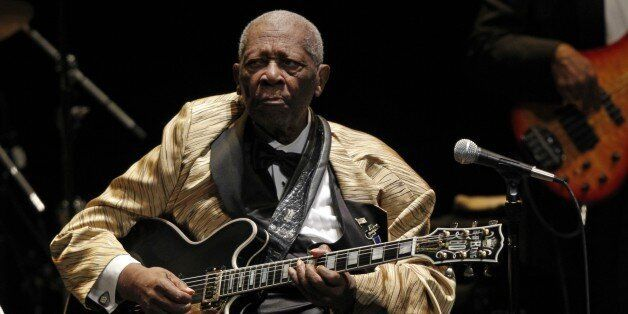 B.B. King performs in concert at the Tennessee Theater, Tuesday, May 27, 2014 in Knoxville, Tenn. (Photo...