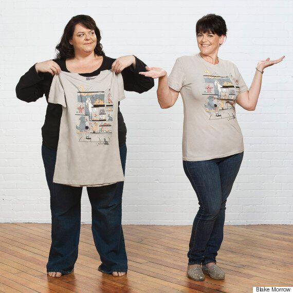 Perte de poids: un avant/après spectaculaire et artistique