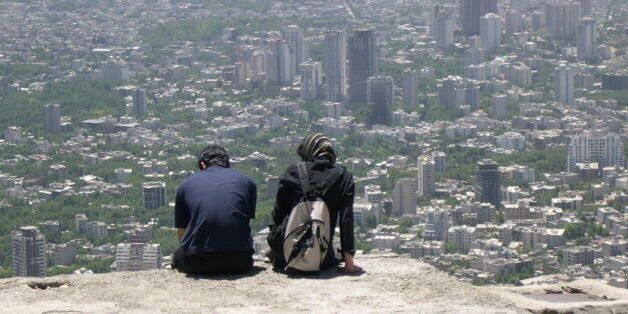 On the way back from the top of Tochal(mountain next to Tehran city)...Amazing