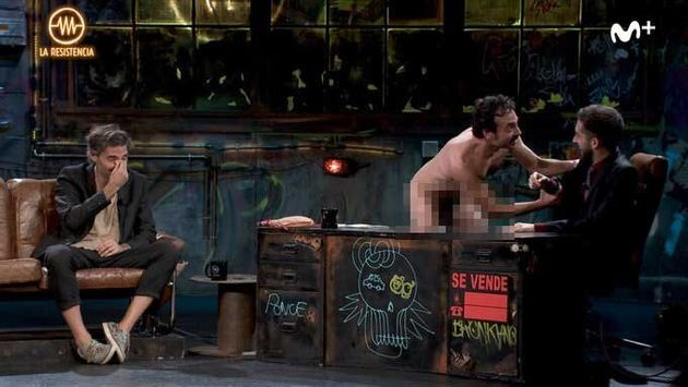 El momento en el que un hombre desnudo irrumpió en 'La