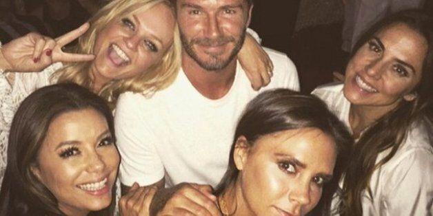David Beckham a soufflé ses 40 bougies avec les Spice Girls et Eva