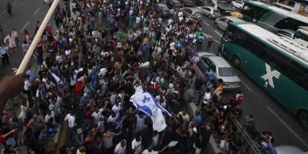 Tel-Aviv: Des Israéliens d'origine éthiopienne ont manifesté contre la