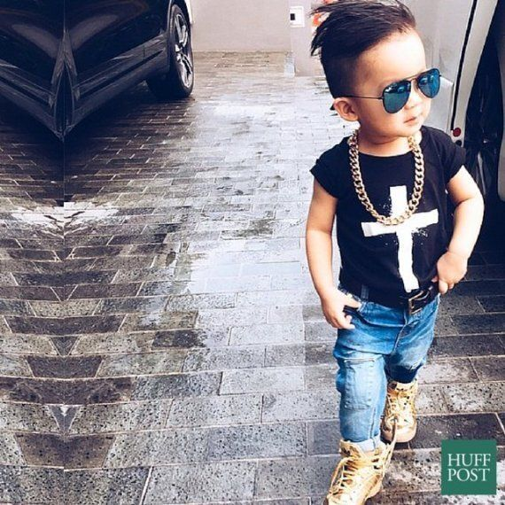 Avec son compte Instagram, ce petit garçon malaisien rivalise avec les blogueurs