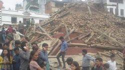 Violent séisme de 7.9 au Népal, des centaines de