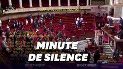 L'Assemblée s'est immédiatement interrompue en apprenant la mort de