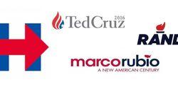 La guerre des logos est déclarée pour la présidentielle