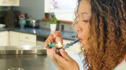 Des photos de fumeurs de cannabis tout sauf
