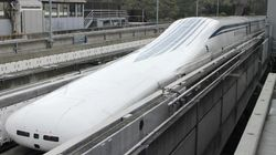 Un train japonais a atteint une vitesse de 603