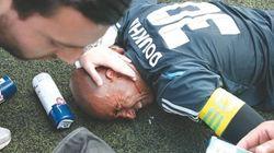 Le gardien Doukha blessé par un projectile lors d'un match contre la violence dans les
