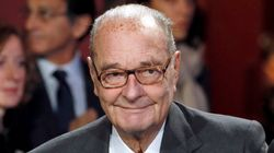 자크 시라크 전 프랑스 대통령이