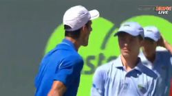 Djokovic s'excuse d'avoir terrorisé un ramasseur de