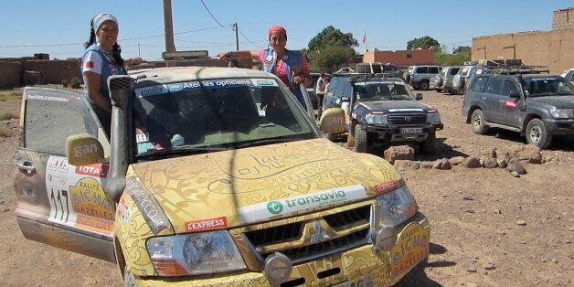 Rallye des Gazelles 2015: une juive et une musulmane roulent pour la