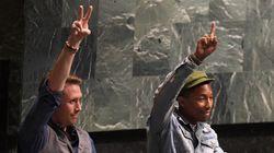 Mais que faisaient Pharrell Williams et Philippe Cousteau à