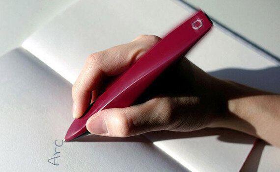 Contre les troubles de l'écriture des malades de Parkinson, des étudiants ont inventé le parfait stylo