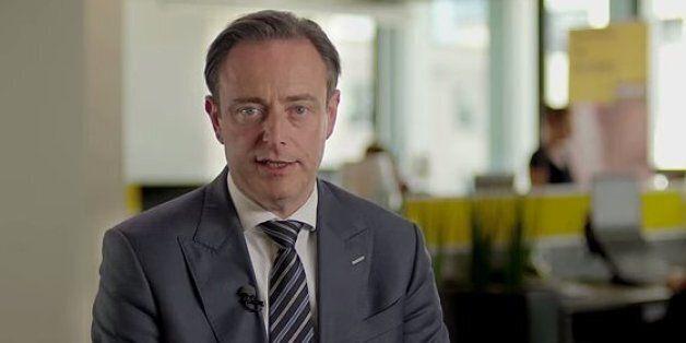 Le chef du parti nationaliste flamand et maire d'Anvers, Bart de