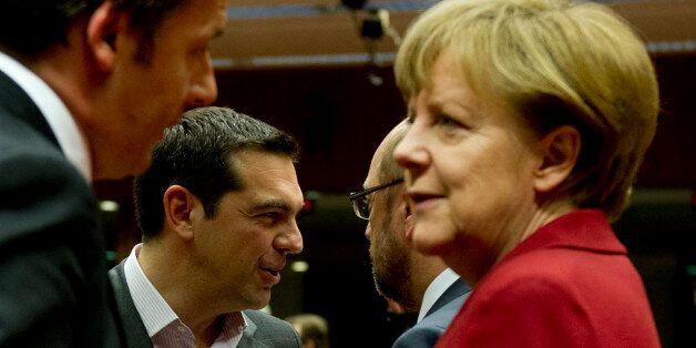 Angela Merkel reçoit Alexis Tsipras pour désamorcer les tensions entre la Grèce et