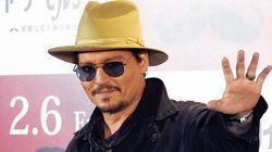 Johnny Depp blessé à la
