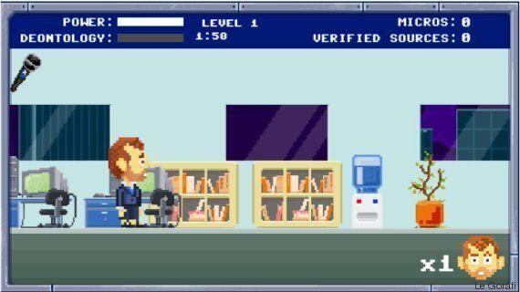 Le Gorafi lance son jeu vidéo, le Super Gorafi News