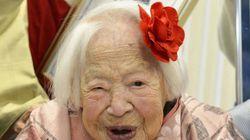 Misao Okawa, doyenne de l'humanité, souffle ses 117
