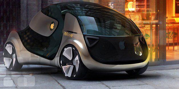 Une Apple Car imaginée par un