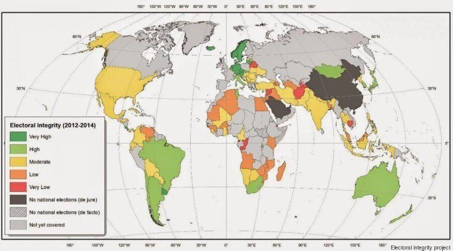 Intégrité des élections: La Tunisie première en Afrique et dans le monde arabe, selon un rapport