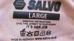 L'étiquette de vêtement la plus sexiste de