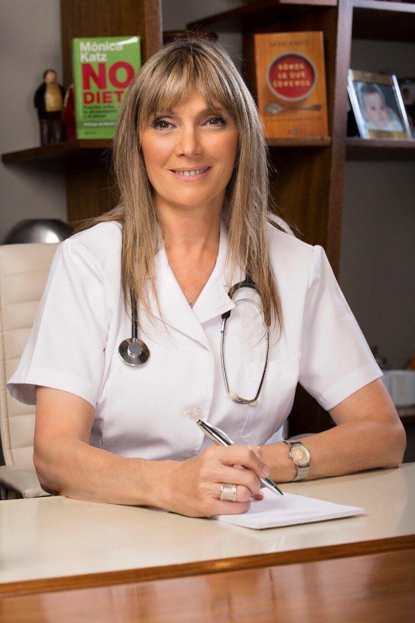 Dr. Monica Katz é professora e faz palestras sobre como combater obesidade.