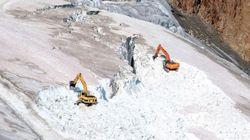 Non, un glacier autrichien n'a pas été