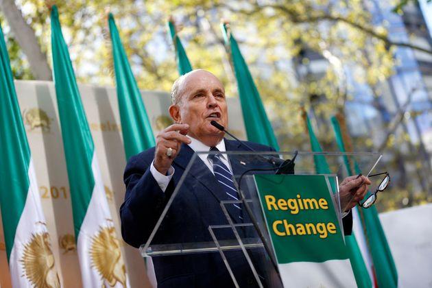 Rudy Giuliani este mes de septiembre en Nueva