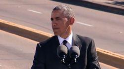 Comment Obama fait le lien entre Martin Luther King et la