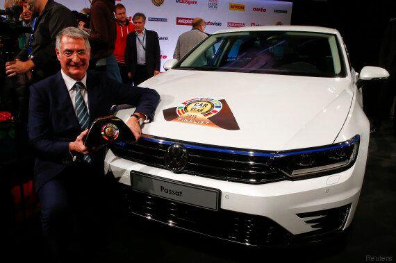 La Volkswagen Passat élue voiture européenne de l'année au Salon de l'automobile de Genève