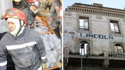 Un mort dans l'effondrement d'une partie de l'hôtel Lincoln à