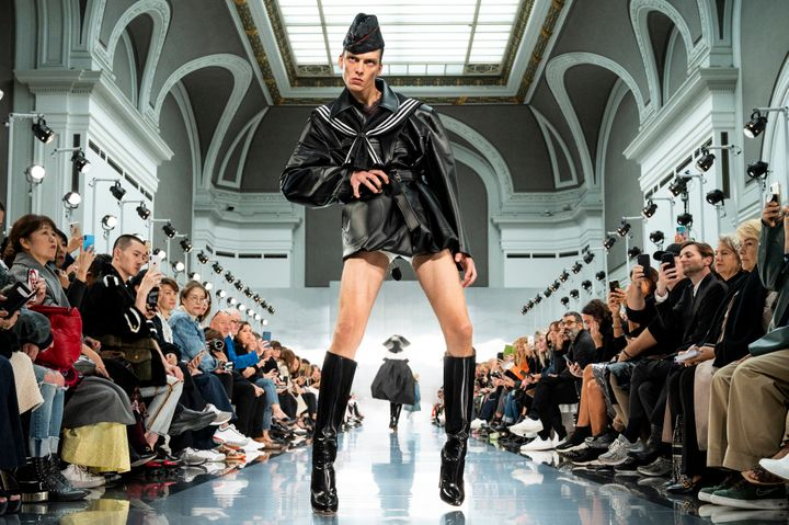 This Model's Runway Stomp Has Eclipsed All Else At Paris Fashion Week