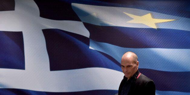 Le nouveau ministre grec des Finances Yanis Varoufakis le 28 janvier