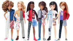 Mattel lança coleção de Barbie sem