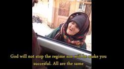 Cette courageuse grand-mère syrienne réprimande des terroristes de Daech