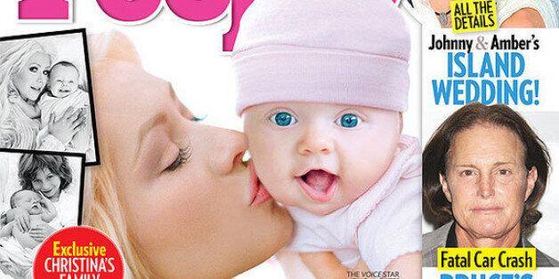 Christina Aguilera dévoile le visage de sa fille en Une de People