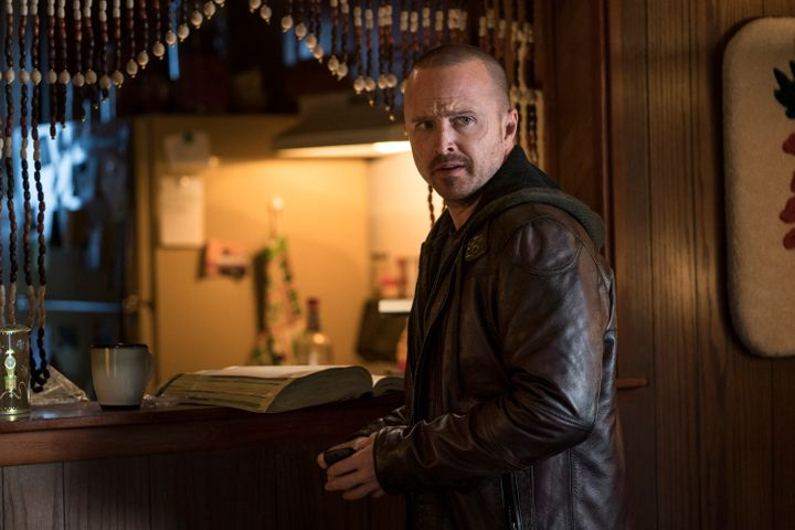 "Aaron Paul in ""El Camino: A Breaking Bad Movie."""