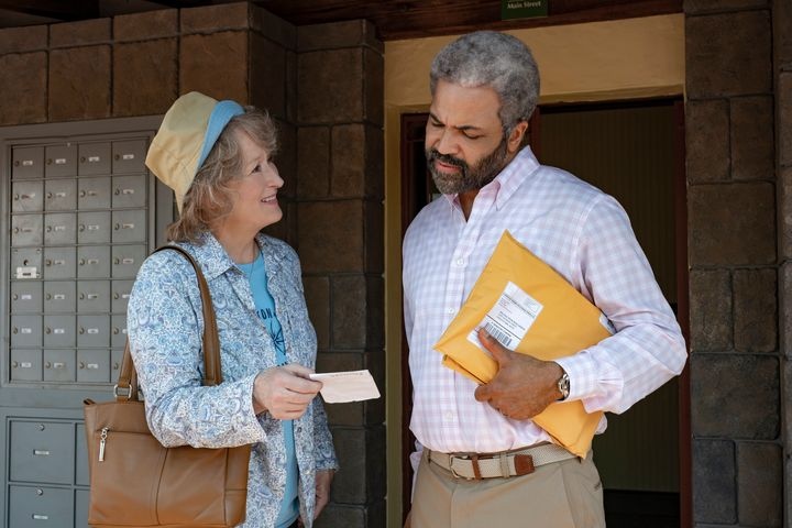 "Meryl Streep and Jeffrey Wright in ""The Laundromat"""