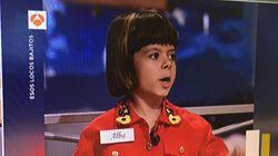 La niña que se hizo famosa en el programa de Bertín Osborne reaparece 21 años después muy cambiada en todos los
