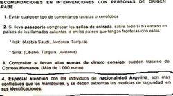 La police espagnole met en garde contre