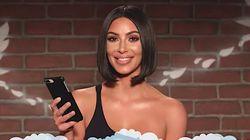 Kim Kardashian Destroys Mean Tweeter On 'Jimmy Kimmel