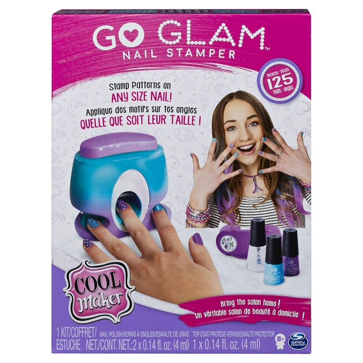 We're predicting this nail stamper will be a hot item for hard-to-shop-for teen girls this holiday season.