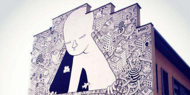 Millo ou le street-art italien aux fresques gigantesques