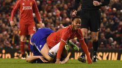 La chute de ces deux footballeurs a bien amusé les