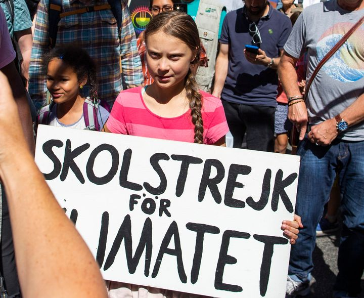 Greta Thunberg aura-t-elle sa célèbre affiche avec elle?