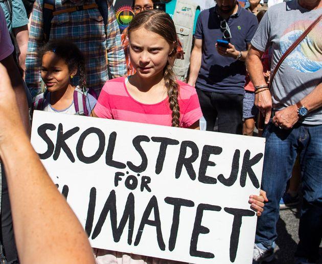 Greta Thunberg aura-t-elle sa célèbre affiche avec