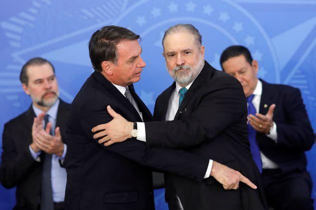 Augusto Aras tomou posse comonovo procurador-geral da República (PGR) nesta quinta-feira